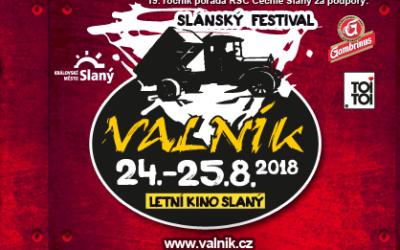 SLÁNSKÝ OPEN AIR FESTIVAL VALNÍK No.19