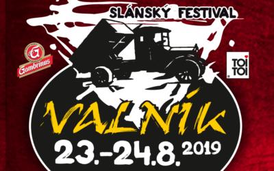 SLÁNSKÝ OPEN AIR FESTIVAL VALNÍK No.20