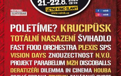 OFICIÁLNÍ PLAKÁT SLÁNSKÉHO FESTIVALU VALNÍK 2020
