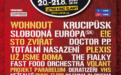OFICIÁLNÍ PLAKÁT SLÁNSKÉHO FESTIVALU VALNÍK 2021